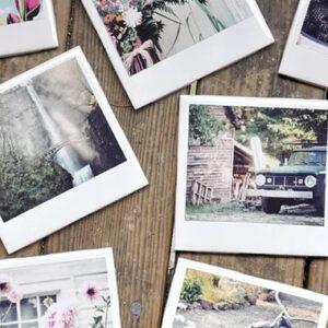 Foto stile Polaroid